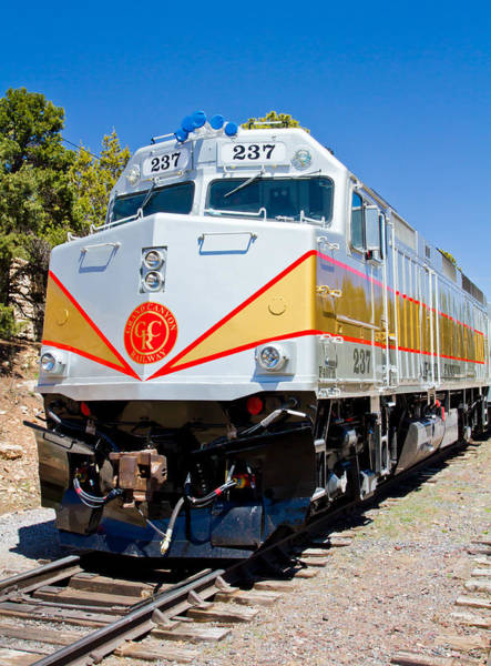 Photograph - Grand Canyon Railway Locomotive by Adam Pender