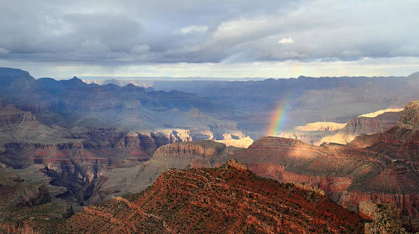 Photograph - Grand Canyon Rainbow by Pierre Leclerc Photography