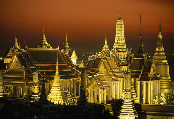 Wall Art - Photograph - Grand Palace And Temple Of The Emerald by Paul Chesley