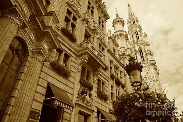 Wall Art - Photograph - Grand Place Perspective by Carol Groenen