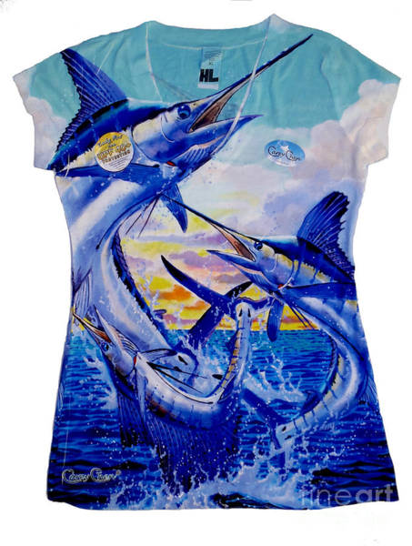 Chen Digital Art - Grand Slam Ladies Shirt by Carey Chen