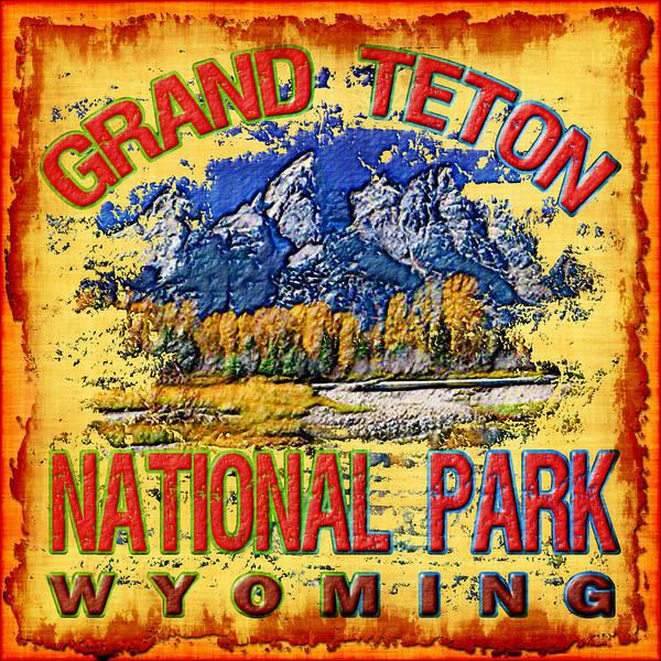 Wall Art - Photograph - Grand Teton National Park by David G Paul