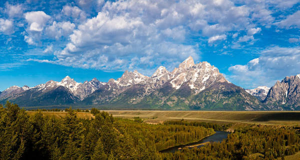 Photograph - Grand Teton Vista by Adam Pender