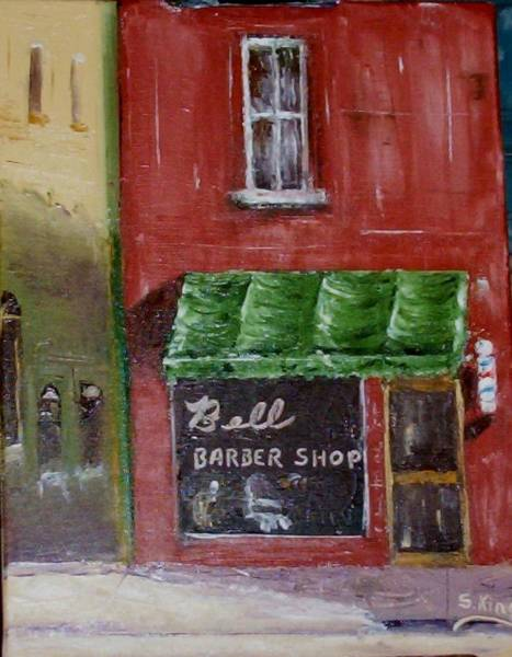 Stephen King Painting - Grandpa's Shop by Stephen King