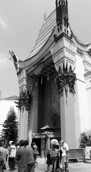 Architects Photograph - Grauman's Chinese by Ricky Barnard