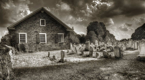 Photograph - Grave Shadows by Arthur Fix