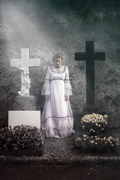 Grave Yard Photograph - Graves by Joana Kruse