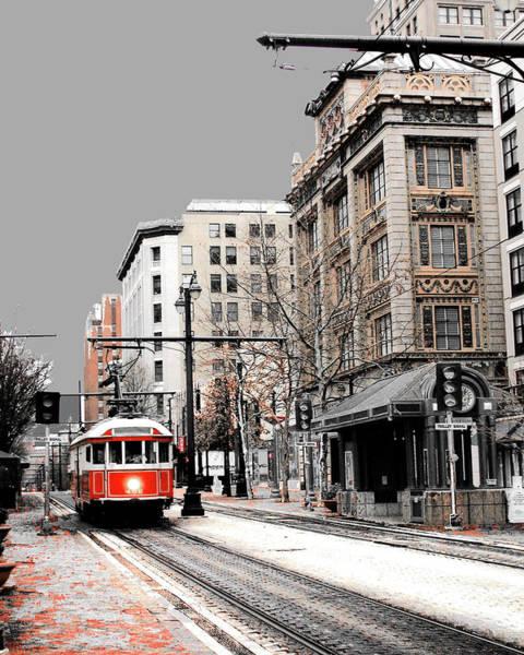 Photograph - Gray Line Trolley by Lizi Beard-Ward
