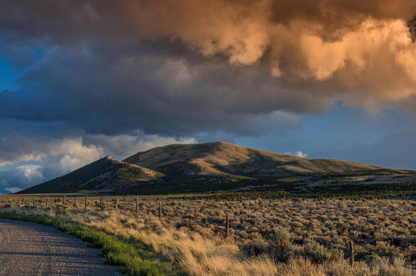East Humboldt Range Photograph - Great Basin Cloud by Greg Nyquist
