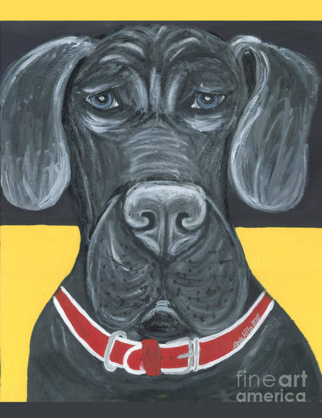 Great Dane Poster Art Print