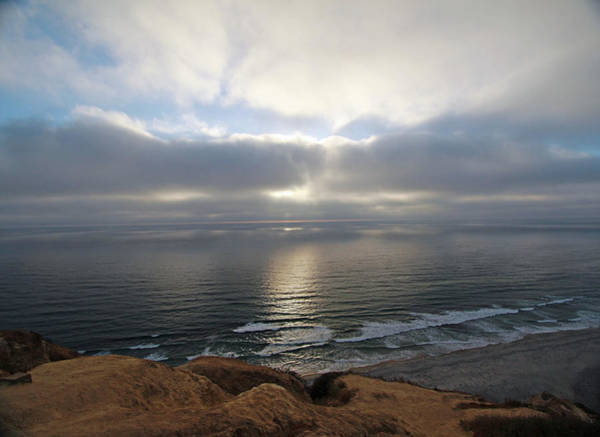 Photograph - Great Skies At Blacks Beach by Jeremy McKay