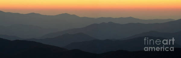 Wall Art - Photograph - Great Smokie Mountains National Park Sunset by Dustin K Ryan