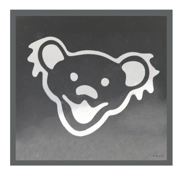 Greatful Dead Photograph - Greatful Dead Dancing Bear In Negative by Rob Hans