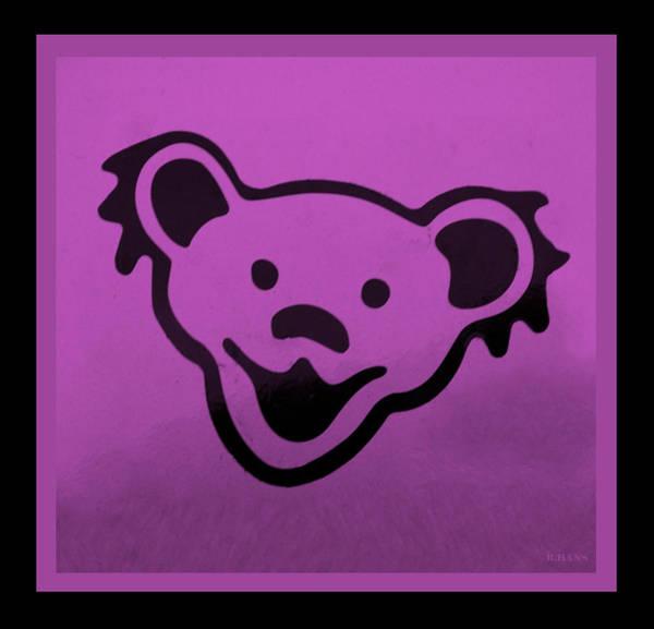 Greatful Dead Photograph - Greatful Dead Dancing Bear In Pink by Rob Hans