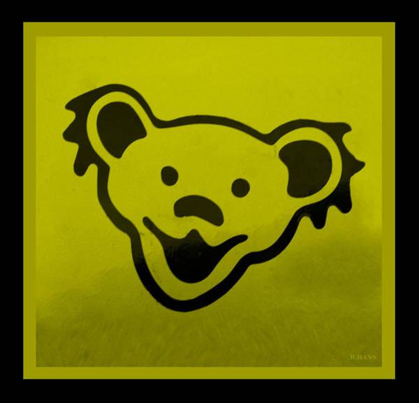 Greatful Dead Photograph - Greatful Dead Dancing Bear In Yellow by Rob Hans