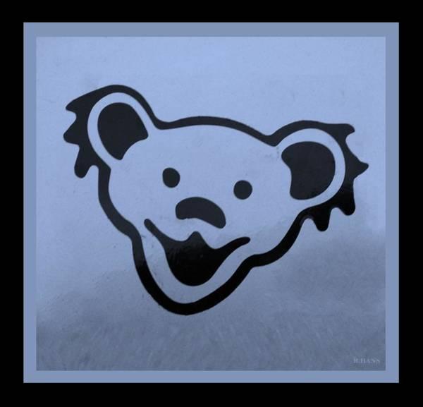 Greatful Dead Photograph - Greatful Dead Dancing Bears In Cyan by Rob Hans