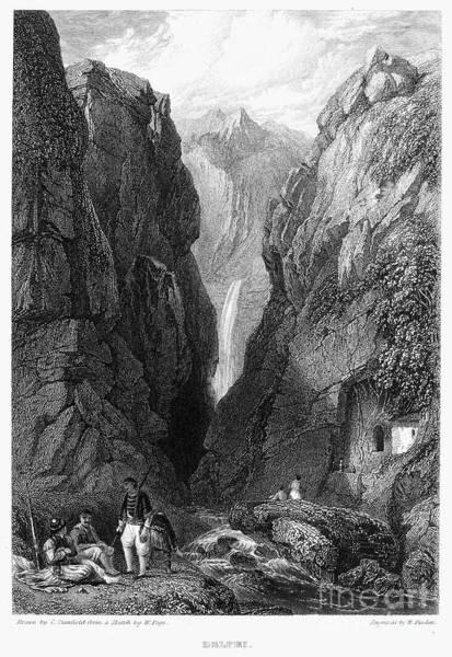 Photograph - Greece: Delphi, 1832 by Granger