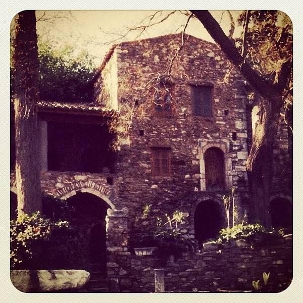 Ancient Photograph - Greek House by Natasha Marco