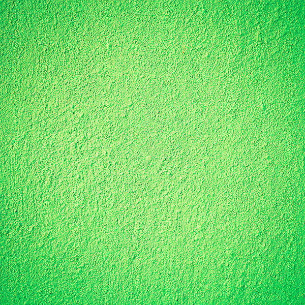 Cement Wall Art - Photograph - Green Background by Tom Gowanlock