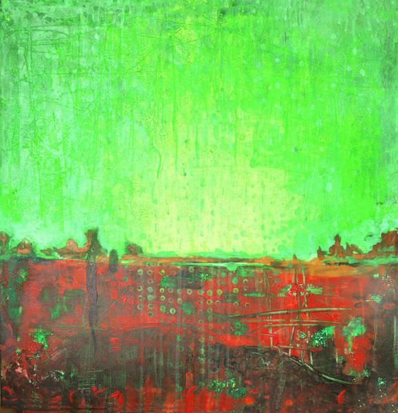 Wall Art - Painting - Green Day by Lolita Bronzini