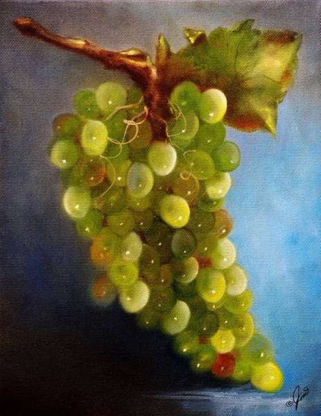 Painting - Green Grapes 2 by Joni McPherson