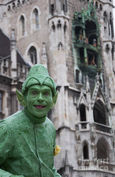 Glockenspiel Photograph - Green Man by Andrew  Michael