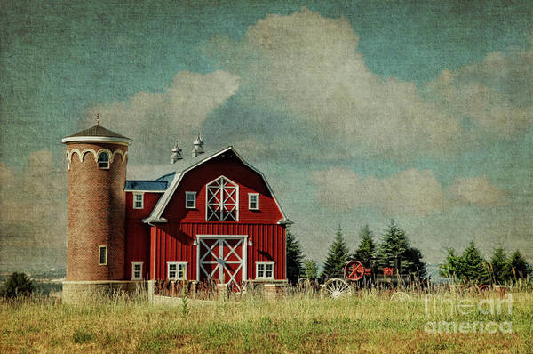 Greenbluff Barn Art Print