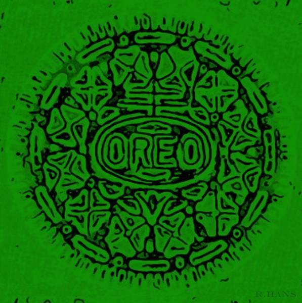 Nabisco Photograph - Greener Oreo by Rob Hans