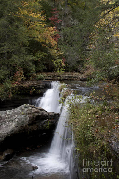 Greeters Photograph - Greeter Falls Tennessee by Linda Gardner-Goos