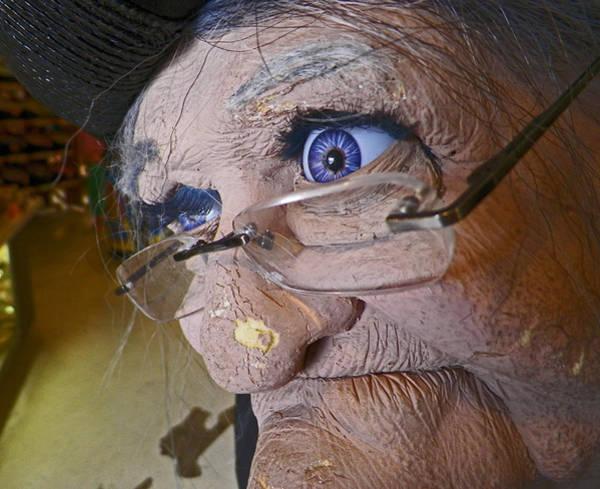 Shotwell Digital Art - Greeting Granny by Seth Shotwell