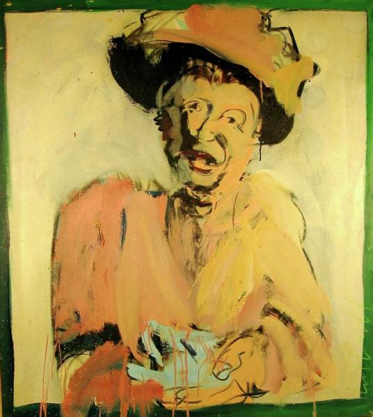 Painting - Gretchen Colnik by Les Leffingwell