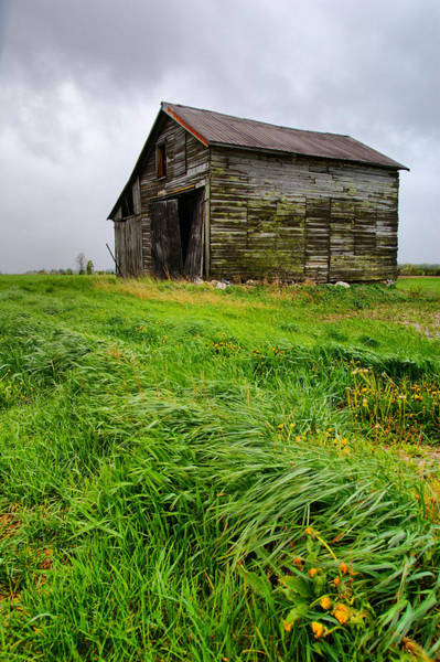 Wall Art - Photograph - Grey County Barn by Cale Best