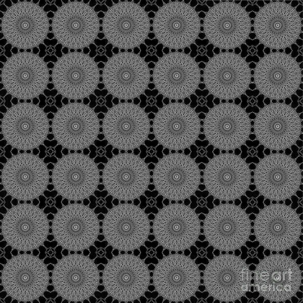 Digital Art - Grey Doily by Clayton Bruster