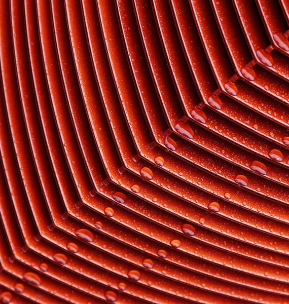 Grill Photograph - Grill Drops by Rebecca Cozart