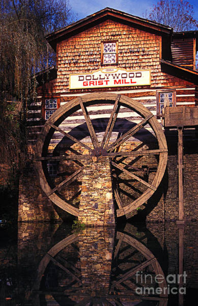 Photograph - Grist Mill In The Smokies by Paul W Faust -  Impressions of Light