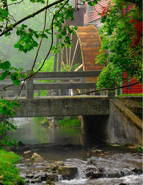 Blye Photograph - Grist Mill by Kenneth Blye