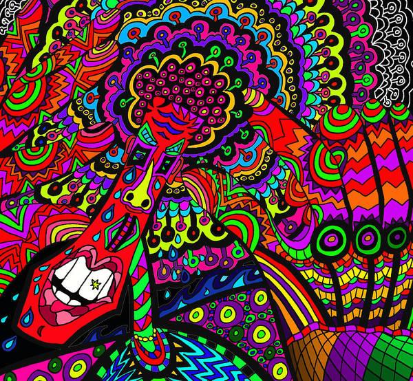 Wall Art - Digital Art - Groovey Mate by Karen Elzinga