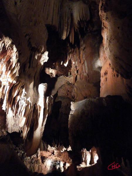 Photograph - Grotte Region Ardeche France Magdaleine by Colette V Hera  Guggenheim