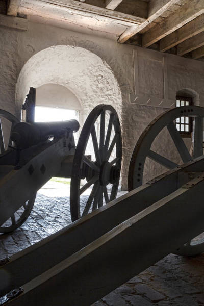 Blacksmith Wall Art - Photograph - Ground Floor Cannons by Peter Chilelli