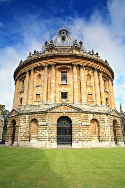 Photograph - Ground Level View Of The Radcliffe Camera Building by Paul Cowan