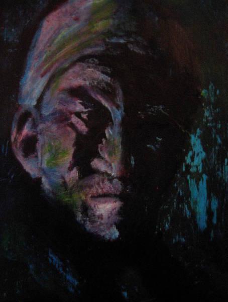 Painting - Grudge by Jason Reinhardt