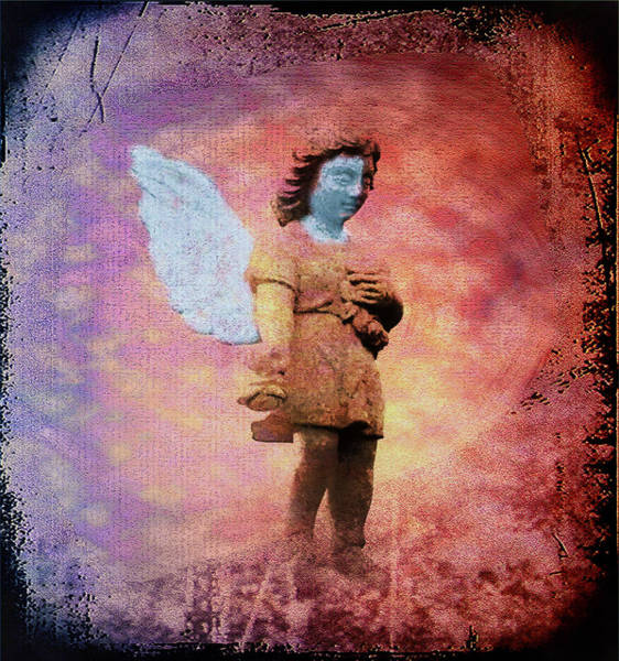 Photograph - Grunge Angel by Bill Cannon