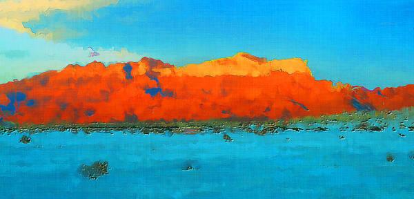 Wall Art - Photograph - Guadalupe Mountains Sunset by David G Paul