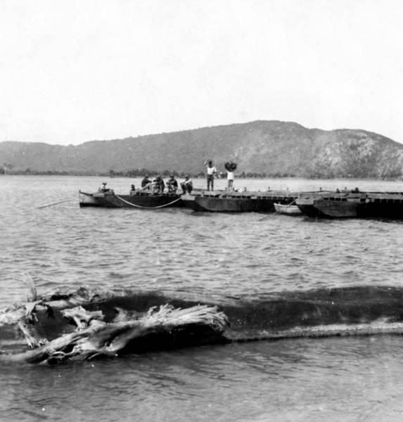 Puerto Rican Photograph - Guanica Harbor - San Juan - Puerto Rico - C 1899 by International  Images