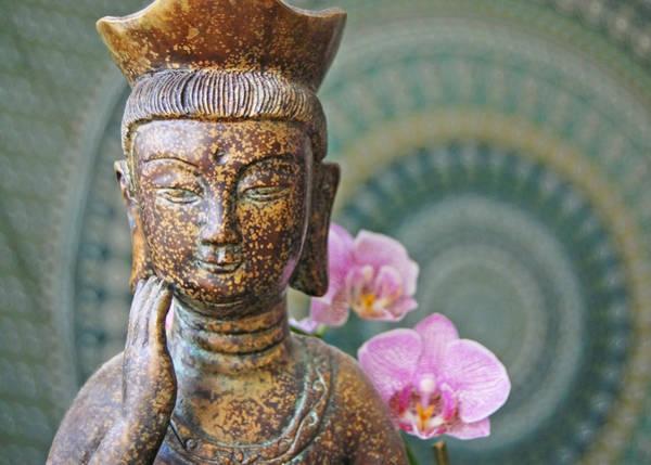 Photograph - Guanyin Buddha by Margaret Pitcher