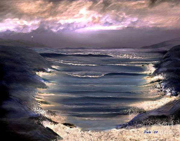 Digital Art - Guarding The Cove by Dale   Ford
