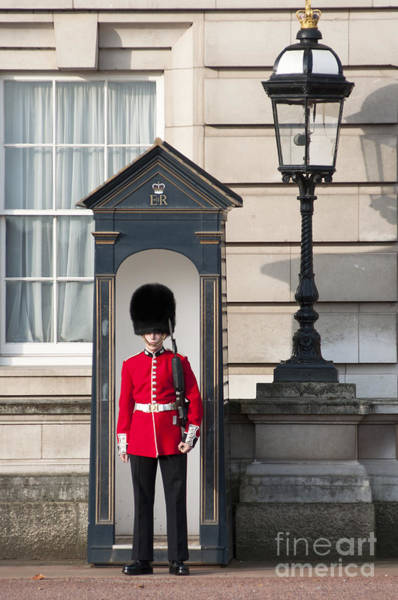 Sentry Box Photograph - Guarding The Palace by Andrew  Michael