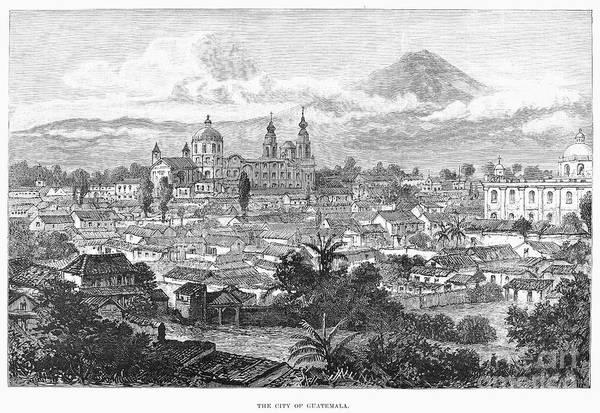 Photograph - Guatemala City, 1890 by Granger