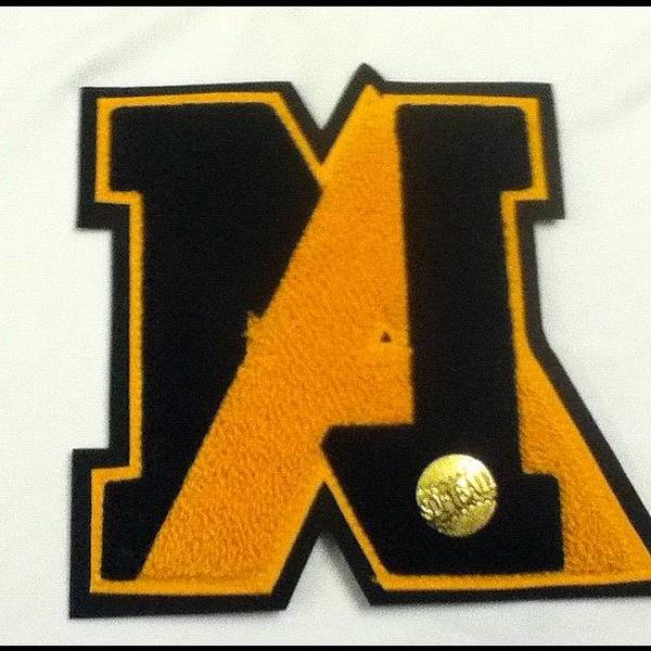 Guess Who Lettered!?! #letter #softball Art Print