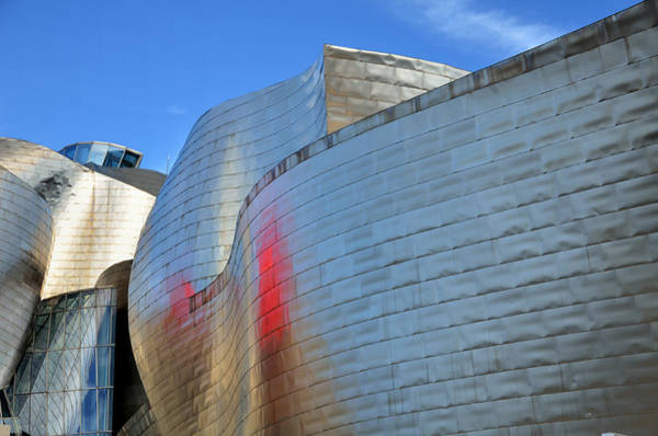 Bilbao Photograph - Guggenheim Museum Bilbao - 3 by RicardMN Photography